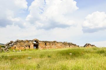 Ruins of a Roman wall
