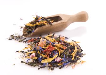 Herbal floral tea