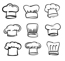 Chef hat icons