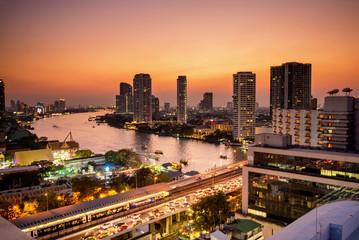 Evening in Bangkok