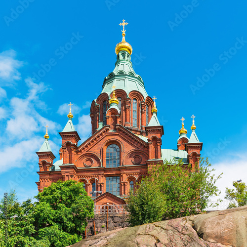 Uspenski Cathedral in Helsinki, Finland