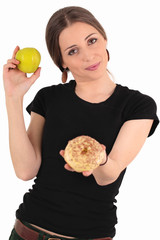 Apple vs. Donut