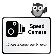 Speed Camera Government revenue sign