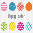 Happy Easter Card. vector.