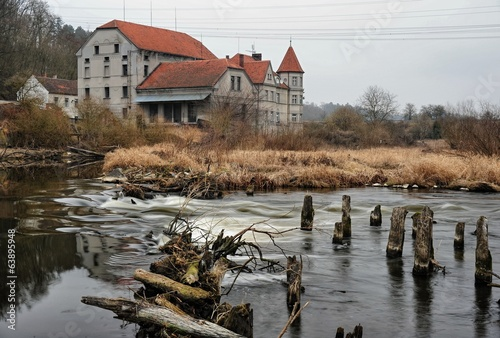 An old house on the river