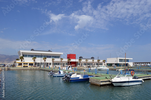 Marina at Roquetas de Mar, Almeria, Spain