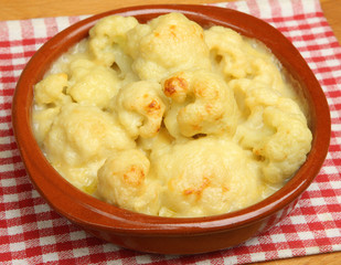 Cauliflower Cheese Portion