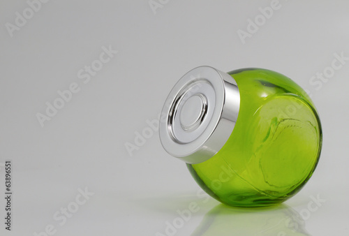 Green Color jars