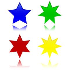 Volumetric stars