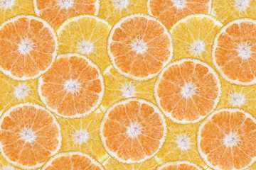 background of fresh  cut orange