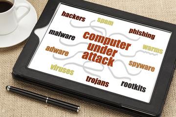 computer under attack concept