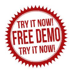 Free demo stamp