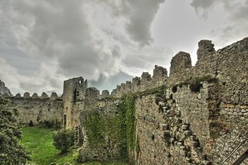 Chateau de puilaurens,Aude