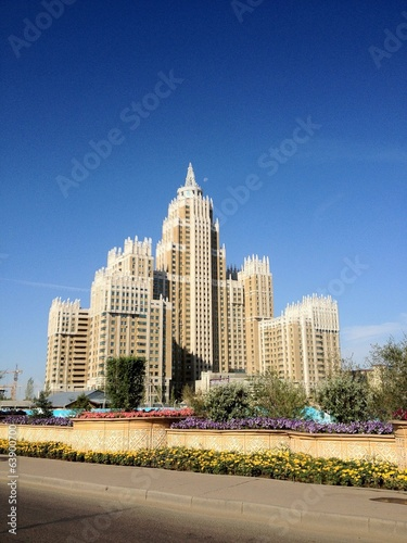 building in astana