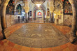 The hall in the Temple of the Holy Sepulchre.
