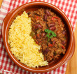 Chilli Con Carne & Rice