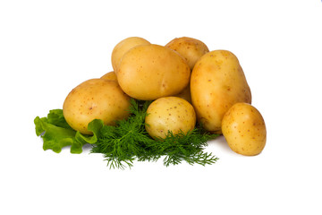 Potatoes with fennel