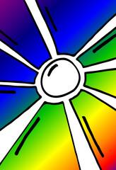 Sonne - Farbspektrum