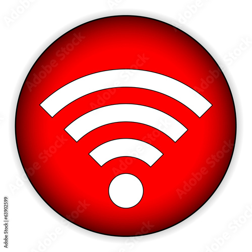 Wi-Fi icon button