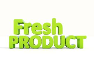 3d Fresh Product