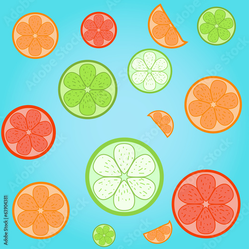 Citrus nice background