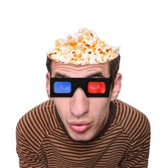Watching a movie. Creative.