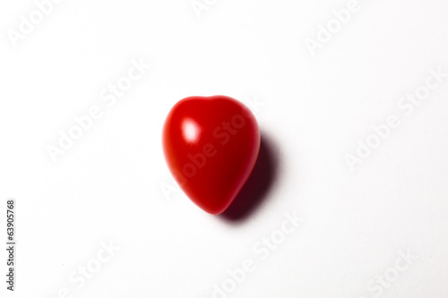 Heart shaped cherry tomato
