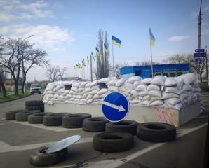 Блокпост в Николаеве