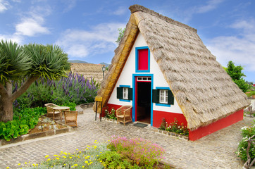 Typical souvernir sweet candy shop house, Madeira
