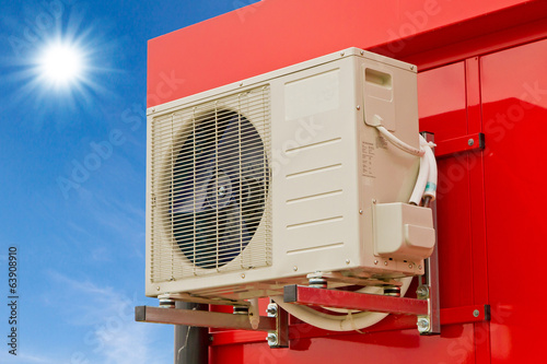 canvas print picture Klimaanlage - Air condition