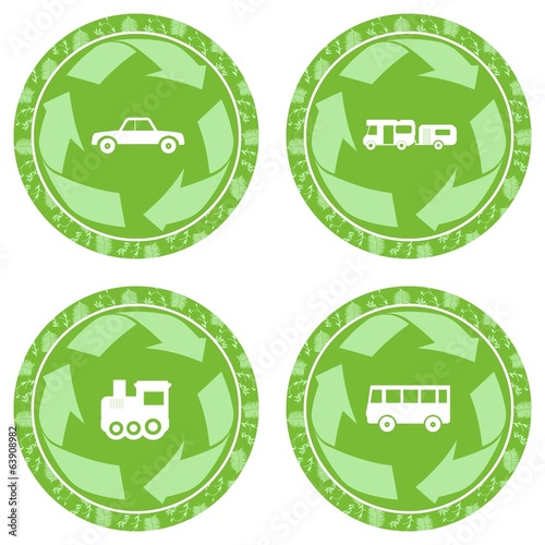 Green Rond Sign