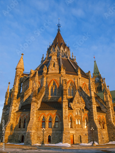 Parliament Library in Ottawa