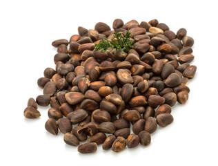 Cedar nut heap