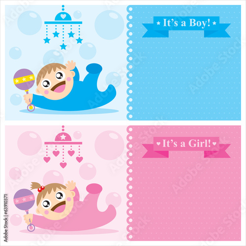 baby card greetings