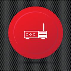 Router button,vector