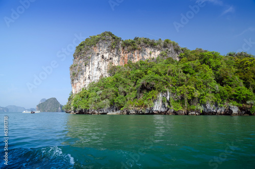 National Park in Phang Nga Bay, Thailand