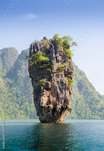 James Bond island geology rock formation