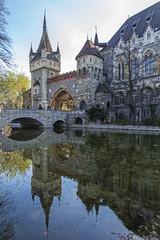 Budapest, Hungary. castle Vaydahunyad
