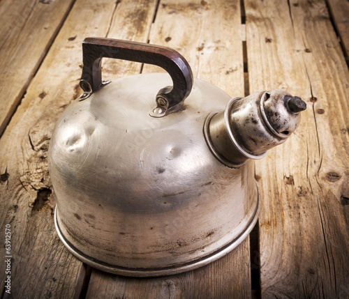 Old Tea Kettle