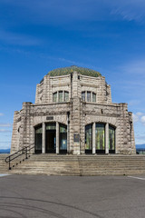 vista house oregon closeup