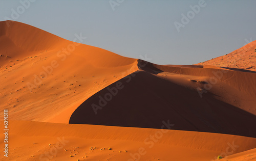 Sossusvlei Dunes in the Sunset, Namibia