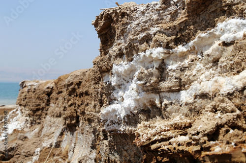 dead sea salt at Jordan