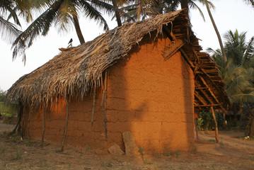 Clay shack
