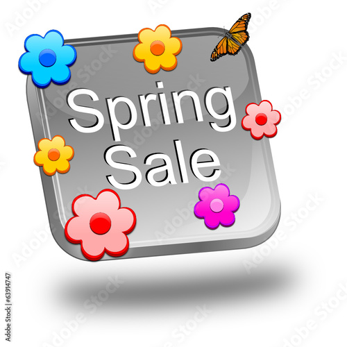 Spring sale button