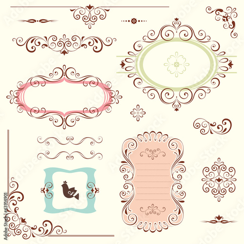 Ornate Frames Design