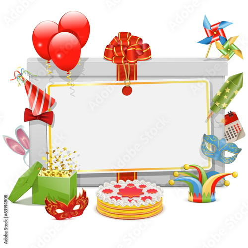 Vector Celebration Board