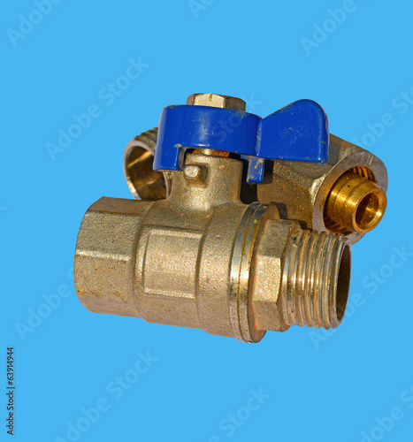 Small diameter ball valve