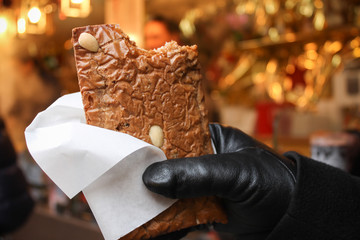 Gingerbread in the Christmas Market