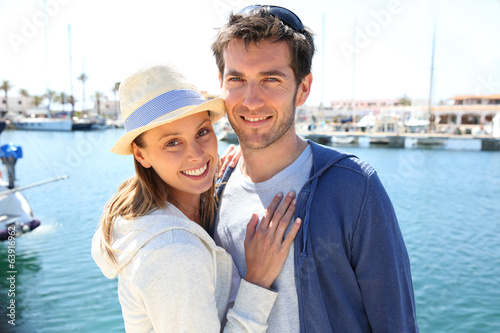 couple in vacation