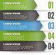 Green and dark modern Design template